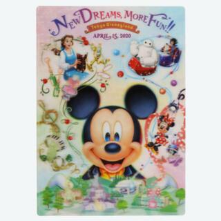 ディズニー(Disney)のディズニーランド 新エリア クリアホルダー(クリアファイル)