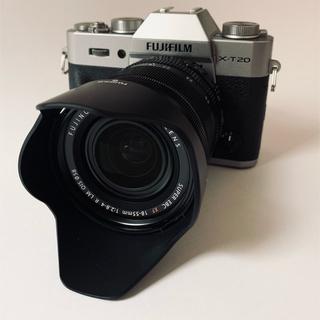 富士フイルム - X-T20 レンズキット(18-55mmレンズ) フジフイルム