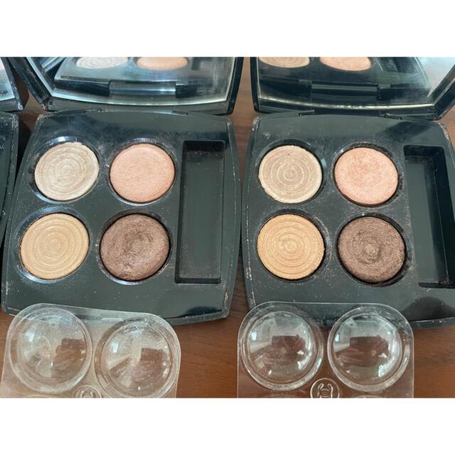CHANEL(シャネル)のシャネル  アイシャドウ 3つセット コスメ/美容のベースメイク/化粧品(アイシャドウ)の商品写真