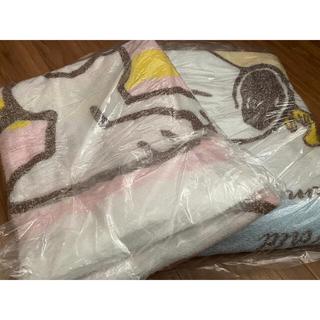 SNOOPY - スヌーピー  おぼろタオルケット