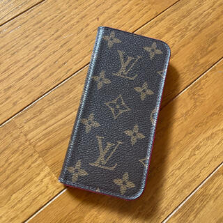 ルイヴィトン(LOUIS VUITTON)のルイヴィトン iPhoneケース フォリオ(iPhoneケース)