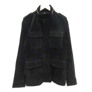 glamb - グラム M-65 ミリタリージャケット 豚革 スエード 3 L 黒