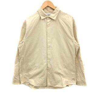 ヤエカ(YAECA)のヤエカ YAECA 19SS カジュアルシャツ コンフォート 長袖 M ベージュ(シャツ)