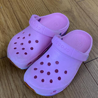 クロックス(crocs)のクロックス 17.5〜18㎝(サンダル)