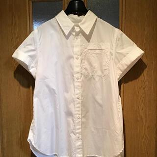 ワイズ(Y's)のぬんぴょう様専用 新品未使用品 Y,s  デザイン シャツブラウス ホワイト(シャツ/ブラウス(半袖/袖なし))
