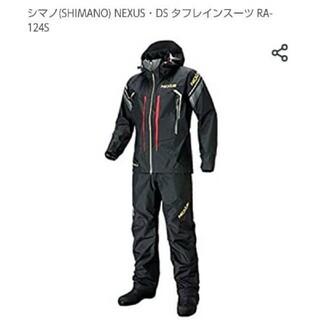 シマノ(SHIMANO)のSHIMANO NEXUS DS タフレインスーツ RA-124Sブラック L (ウエア)