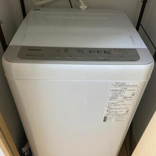 Panasonic - Panasonic 洗濯機 5/16日取引限定! 使用10回程度 2020年度製