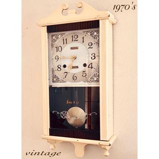 CITIZEN - 1970's シャビーシックな柱時計 ボンボン時計 振り子時計 ヴィンテージ