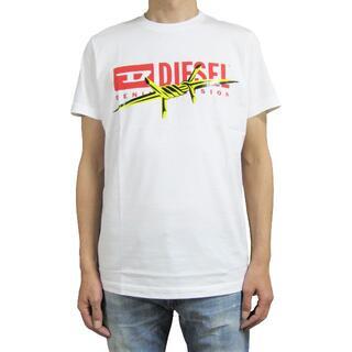 DIESEL - DIESEL メンズ ダブルプリント Tシャツ Sサイズ T-DIEGO-BX2