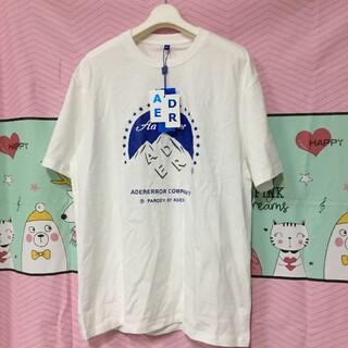 MAISON KITSUNE' - 人気アダーエラー adererror 2019FW Tシャツ オーバーサイズA2