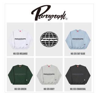 [Paragraph] リフレクティブスウェットシャツ charcoal