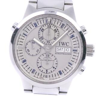 インターナショナルウォッチカンパニー(IWC)のクロノグラフアイダブリューシー シャフハウゼン GSTラトラパンテ ※ジャンク(腕時計(アナログ))