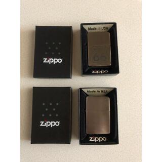 ジッポー(ZIPPO)のZIPPO 2個セット+ライター2個セット(タバコグッズ)