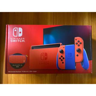 Nintendo Switch - Nintendo Switch ニンテンドースイッチ 本体 マリオレッド×ブルー