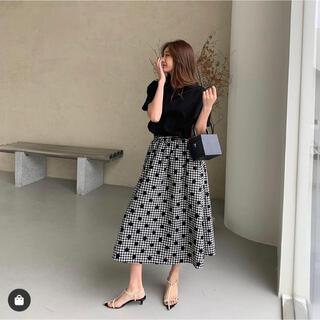 ZARA - 新品未使用 birthdaybash ギンガムチェック スカート