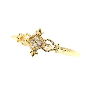 agete - アガット agete ダイヤモンドリング リング・指輪 レディース【中古】