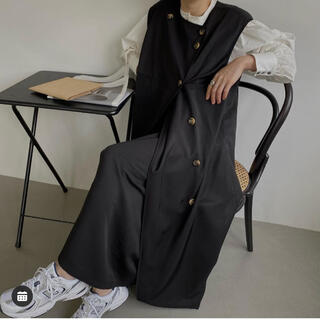 no collar double vest set up / willfully