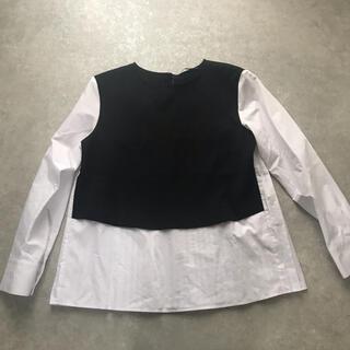 ZARA - ZARA ドッキングシャツ XS