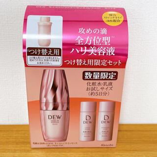 デュウ(DEW)のDEW モイストリフトエッセンス(レフィル) セットa(1セット)(美容液)