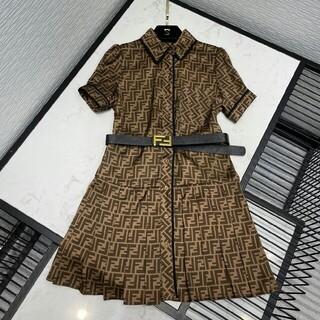 FENDI - 人気美品フェンディFENDI ワンピース ドレス ベルト付き