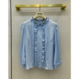 miumiu - 夏  MIUMIU ☆シャツ   長袖 S