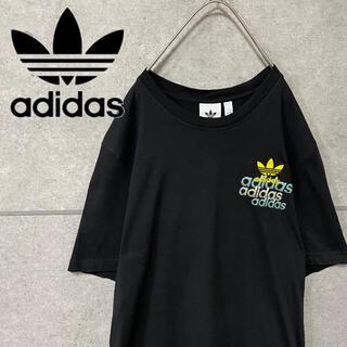 adidas - アディダス トレフォイル ワンポイント ロゴ 刺繍 ビッグ シルエット Tシャツ