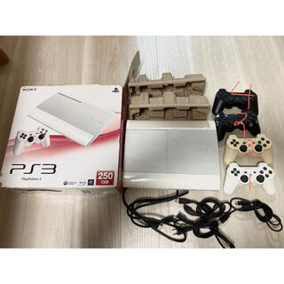 プレイステーション3(PlayStation3)のPS3 250GB 本体 コントローラー(家庭用ゲーム機本体)