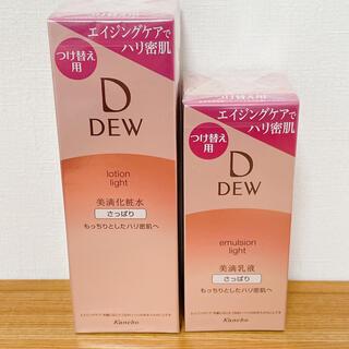 デュウ(DEW)のDEW さっぱり 化粧水 乳液 セット(化粧水/ローション)