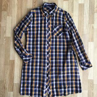 アズノウアズ(AS KNOW AS)のas know as チェックシャツ(シャツ/ブラウス(長袖/七分))