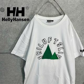ヘリーハンセン(HELLY HANSEN)のHELLY HANSEN ヘリーハンセン  ビッグ ロゴ 刺繍 Tシャツ(Tシャツ/カットソー(半袖/袖なし))