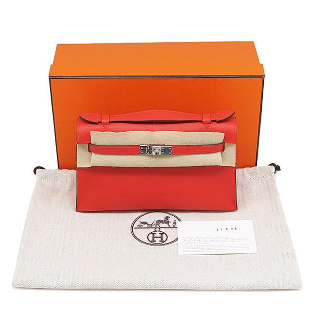Hermes(エルメス)のエルメス  ハンドバッグ  ポシェットケリー  Y刻印(2020年) レ レディースのバッグ(ハンドバッグ)の商品写真