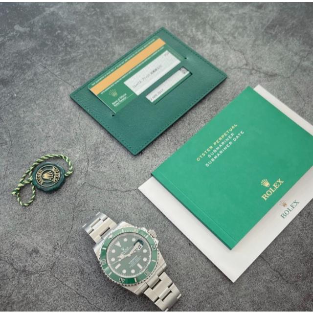 ROLEX(ロレックス)のロレックス グリーンサブマリーナ メンズの時計(腕時計(アナログ))の商品写真