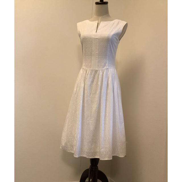 FOXEY(フォクシー)のご専用 FOXEY♡レースワンピース Rhône dress 38 白 レディースのワンピース(ひざ丈ワンピース)の商品写真