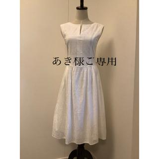 FOXEY - FOXEY♡レースワンピース Rhône dress 38 白