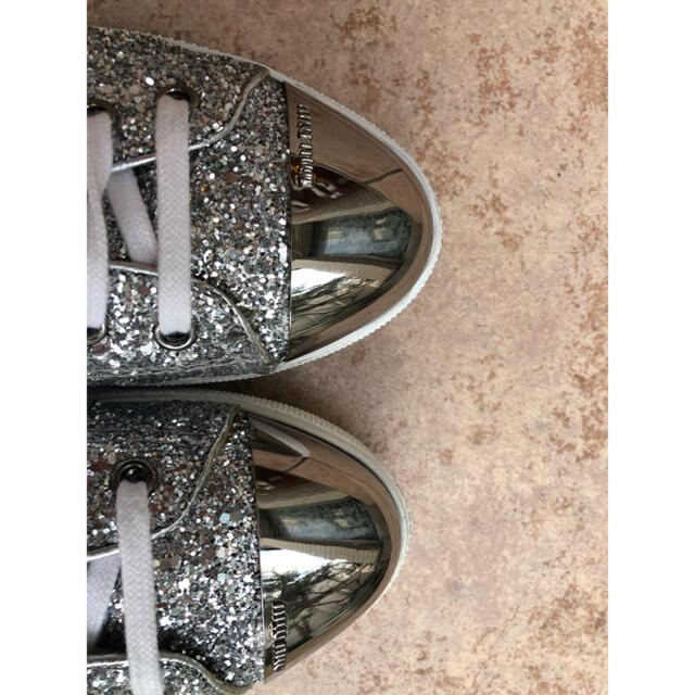 miumiu(ミュウミュウ)のmiumiu グリッター スニーカー レディースの靴/シューズ(スニーカー)の商品写真