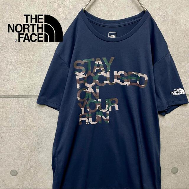 THE NORTH FACE(ザノースフェイス)のTHE NORTH FACE ノースフェイス ビッグ ロゴ プリント Tシャツ メンズのトップス(Tシャツ/カットソー(半袖/袖なし))の商品写真