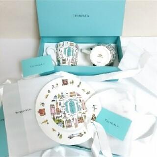 Tiffany & Co. - ティファニー 5TH アベニュー マグカップ デザート プレート セット