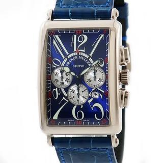 フランクミュラー(FRANCK MULLER)のフランクミュラー  ロングアイランド クロノ 1200CCAT 自動巻き(腕時計(アナログ))