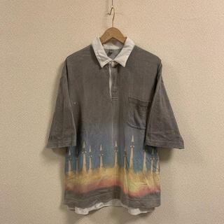 MIHARAYASUHIRO - MIHARAYASUHIROロケットプリントポロシャツ