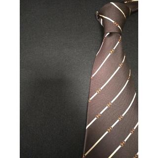 グッチ(Gucci)の最高級ブランド GUCCI ネクタイ 人気ストライプ柄 高級シルク素材(ネクタイ)
