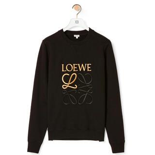 LOEWE - LOEWE アナグラム ロゴ刺繍 スウェットシャツ 20AW