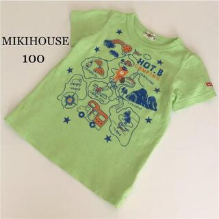 mikihouse - ミキハウス 半袖 シャツ Tシャツ 100 春 夏 キャンプ ファミリア