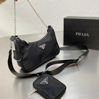 PRADA - 【最終値下げ】Prada プラダ ホーボーバッグ Hobo Bag