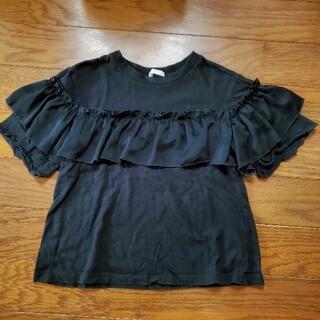 GU - GU ブラックTシャツ 120cm