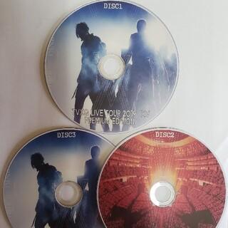 TVXQ ❤️DVD XV LIVE PREMIUM EDITION 3枚組