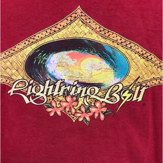 ライトニングボルト(Lightning Bolt)のLightning Bolt Tee  Mサイズ  Made in USA(Tシャツ/カットソー(半袖/袖なし))
