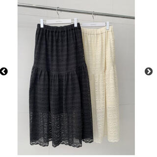 RosyMonster washable lace skirt (ひざ丈スカート)