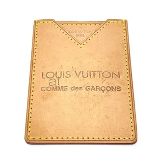 ルイヴィトン(LOUIS VUITTON)のLV ルイヴィトン コム・デ・ギャルソン コラボ パスケース ベージュ系(パスケース/IDカードホルダー)