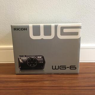 RICOH - 【新品】リコー WG-6 コンパクトデジタルカメラ ブラック