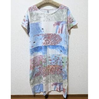Design Tshirts Store graniph - グラニフ graniph スイミー レオ・レオニ コラボ 絵本 ワンピース